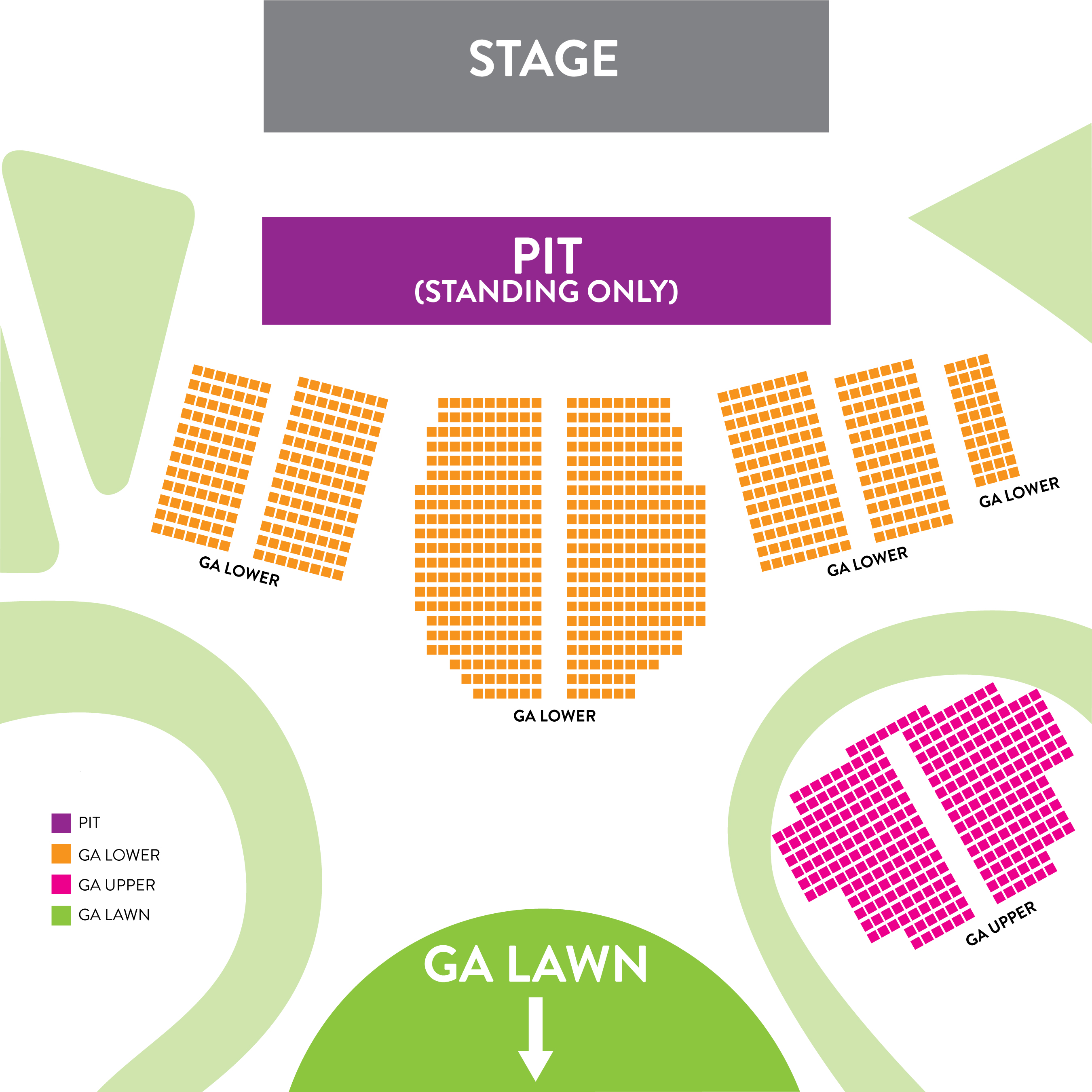 Amp Seating Chart