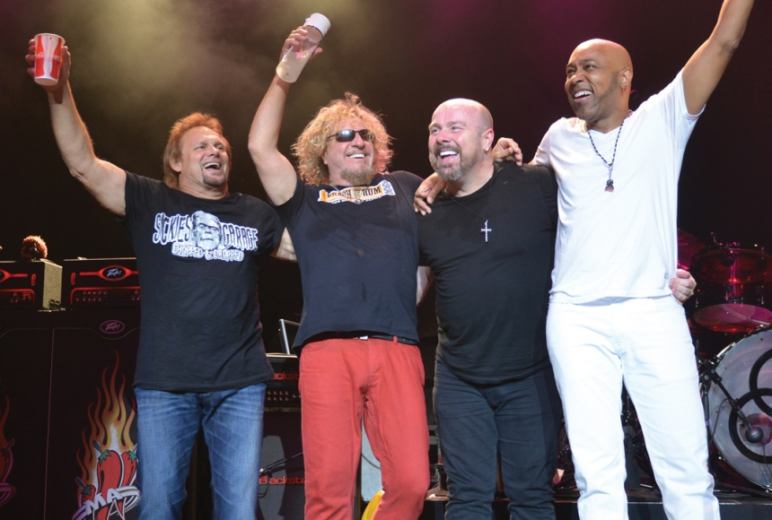 Sammy Hagar & the Circle - photo by Duane Sycz