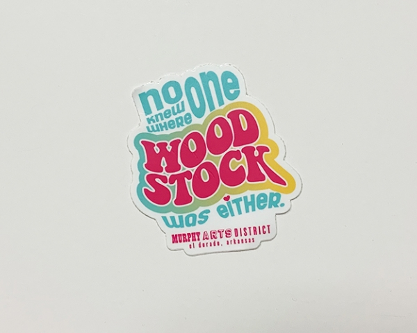 Woodstock Sticker